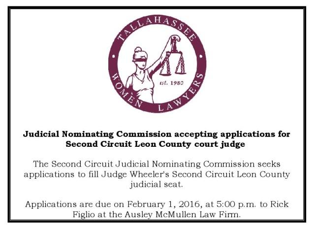 16-1-18 Judicial Vacancy