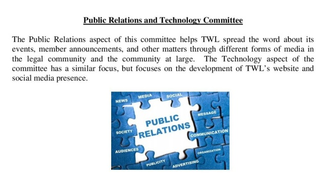 The Public Relations & Technology